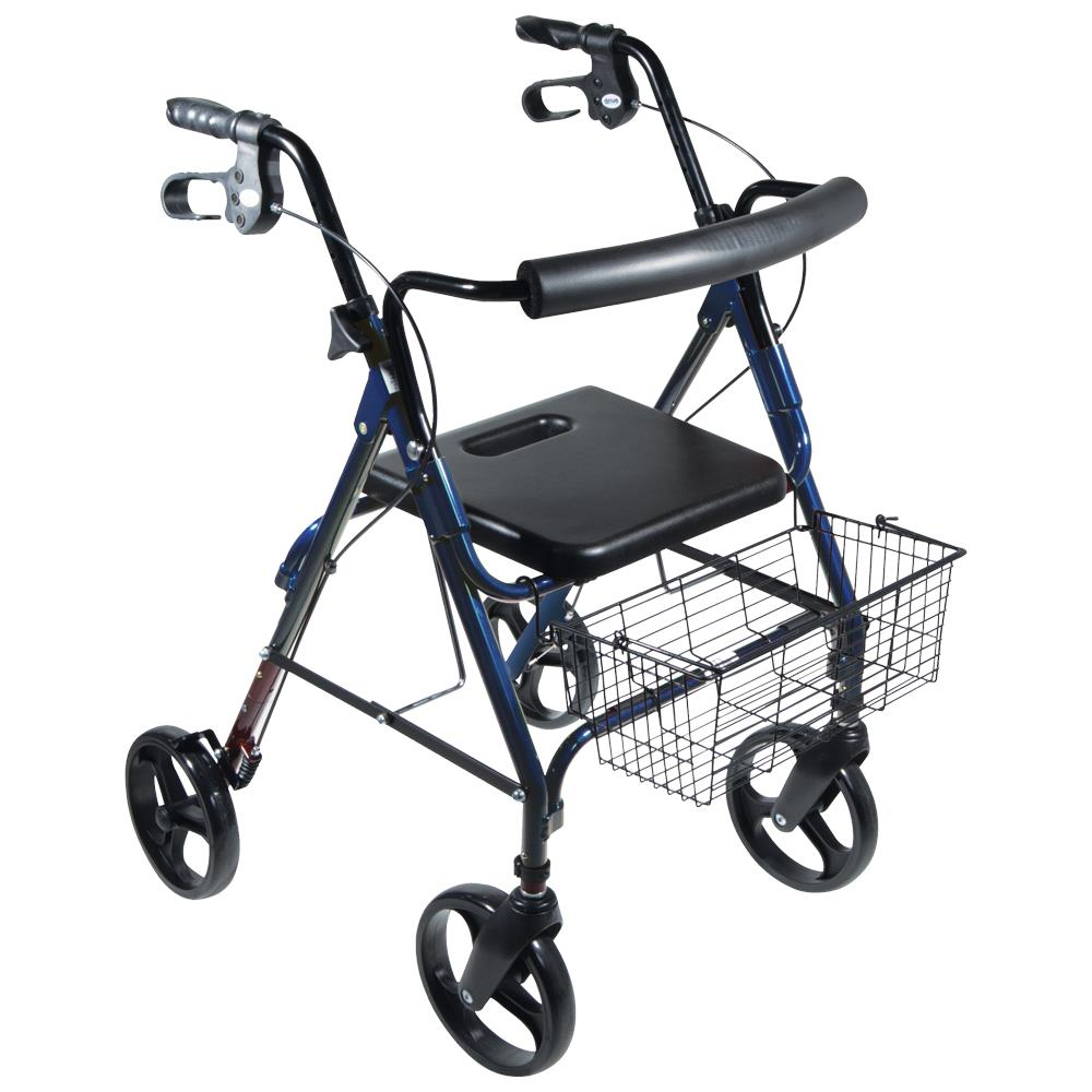 Drive D Lite Aluminum Rollator With Tool Free Removable
