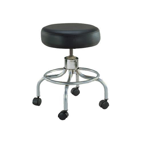 Remarkable Drive Revolving Adjustable Height Stool With Round Footrest Onthecornerstone Fun Painted Chair Ideas Images Onthecornerstoneorg
