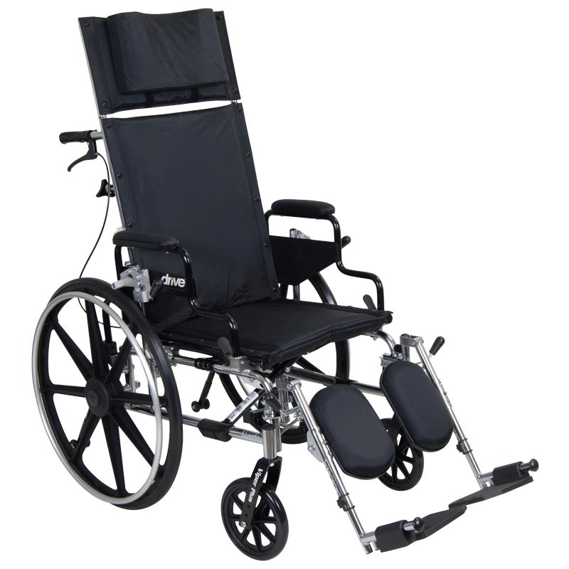 Drive Viper Plus Reclining Wheelchair With Flip Back