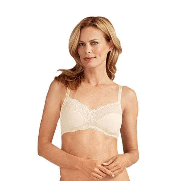 official photos save up to 80% uk store Amoena Lilly Non-Padded Wire-Free Bra