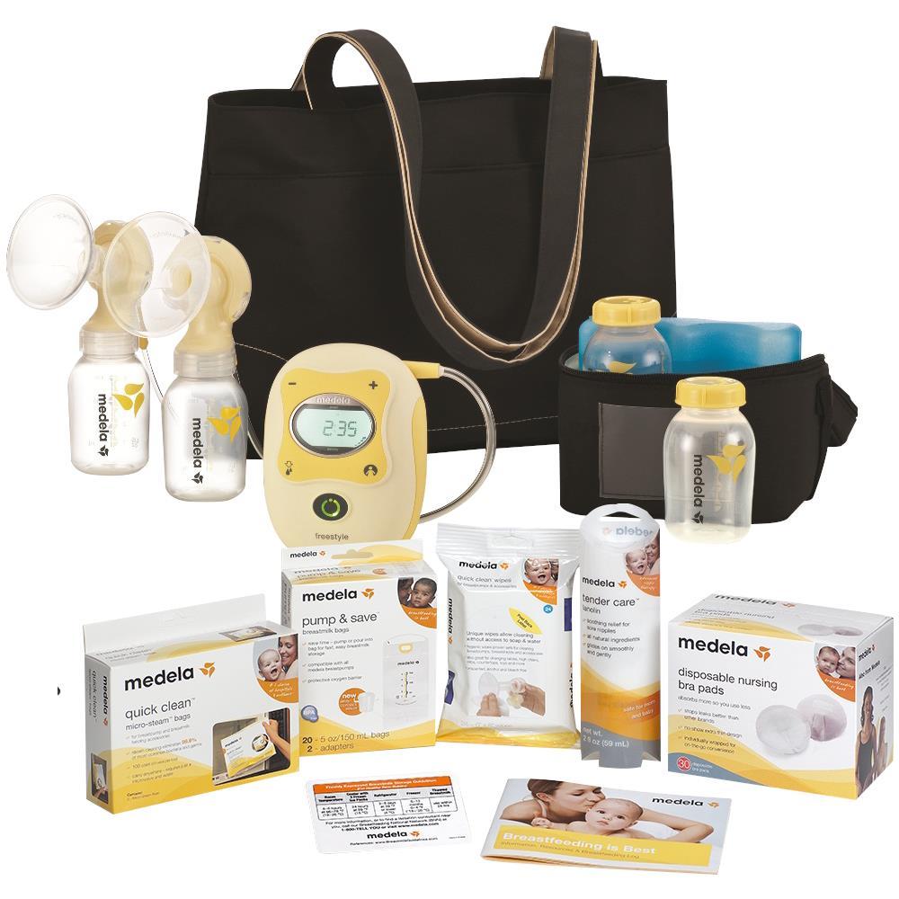 Medela Freestyle Breastpump Solution Set  Breast Pumps-2013