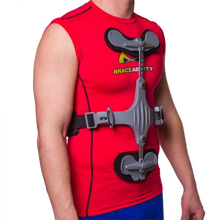 ottobock cybercross tlso thoracic spine hyperextension orthosis