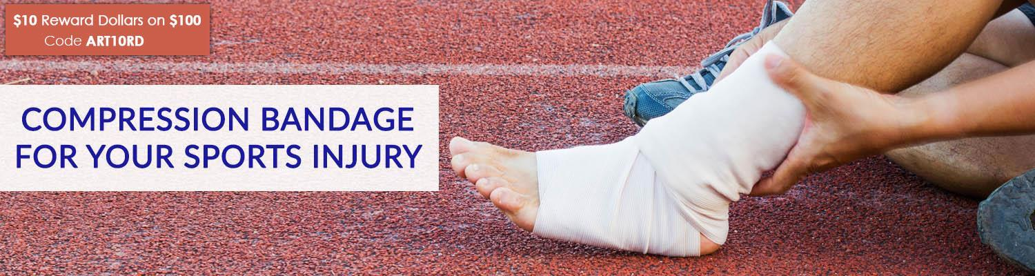 Selecting the Proper Compression Bandage for Your Sports Injury