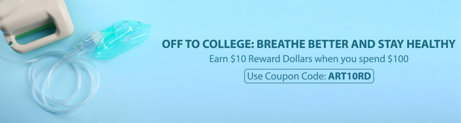 Off to College: Breathe Better and Stay Healthy