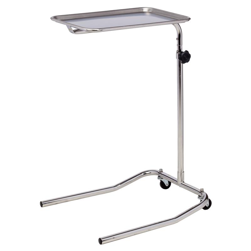 Clinton Single Post Stainless Steel Mayo Stand