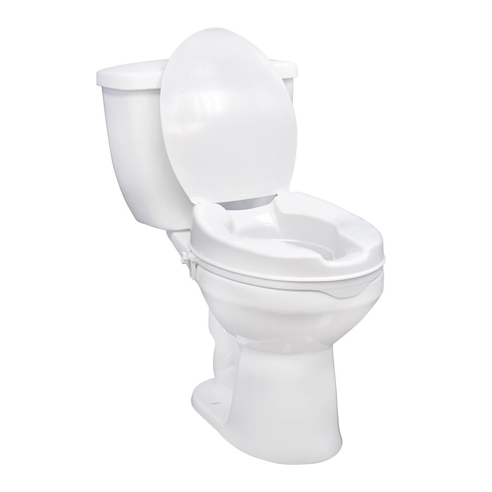 Admirable Drive Raised Toilet Seat With Or Without Lid Pdpeps Interior Chair Design Pdpepsorg