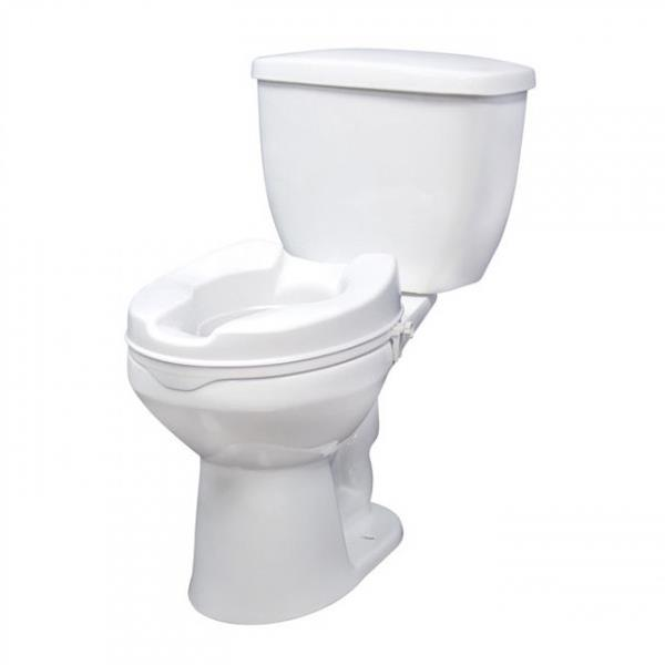 Drive Raised Toilet Seat With Or Without Lid Raised