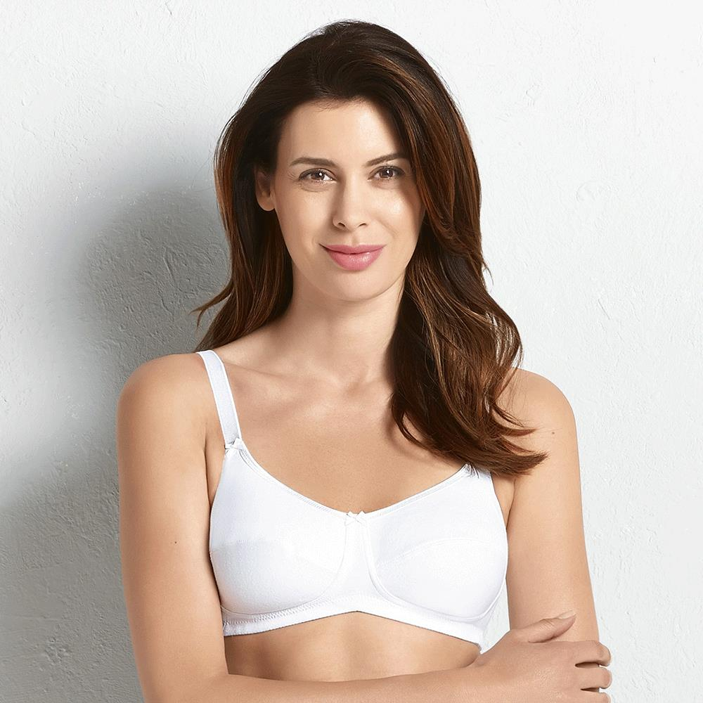 5354d3dcb9 ... Anita Care Allie Cotton Mastectomy Bra - White