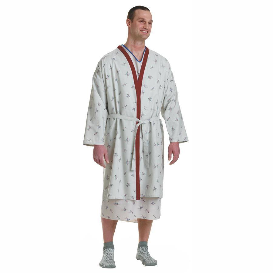 Medline Galaxy Print Deluxe Patient Robe | Patient Gown and Apparels