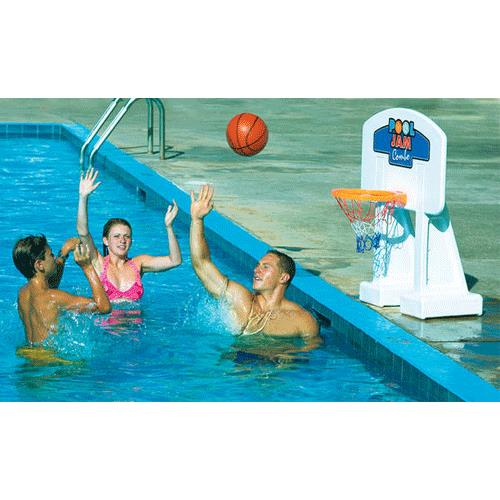 Swimline Pool Jam Combo Inground Volleyball Basketball Game Relaxation And Leisure