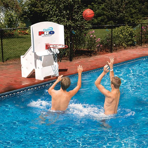 Swimline Cool Jam Pro Poolside Basketball Game