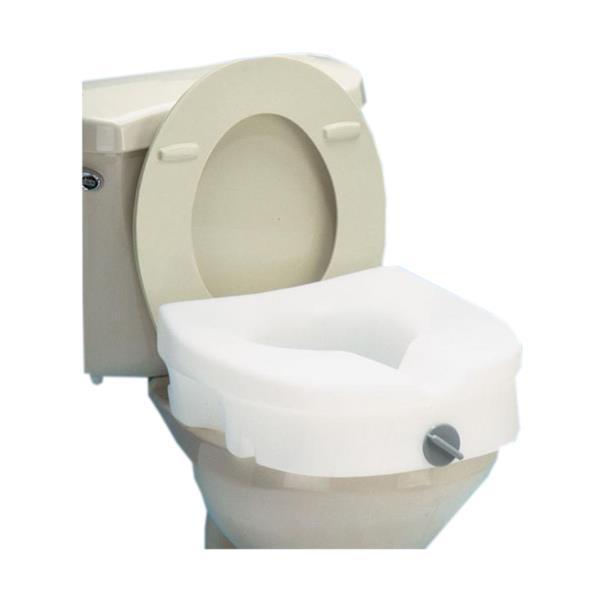 Carex E Z Lock Raised Toilet Seat Raised Toilet Seats