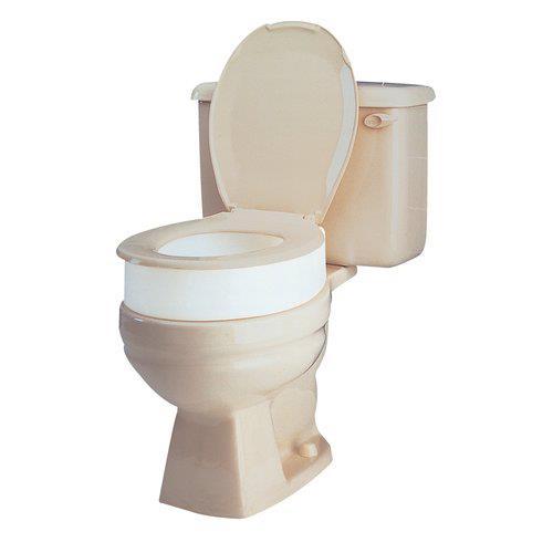 Carex Toilet Seat Elevator Raised Toilet Seats