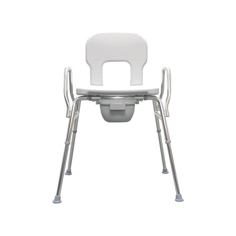 Eagle Health Bariatric Commode With Raised Toilet Seat and Shower ...