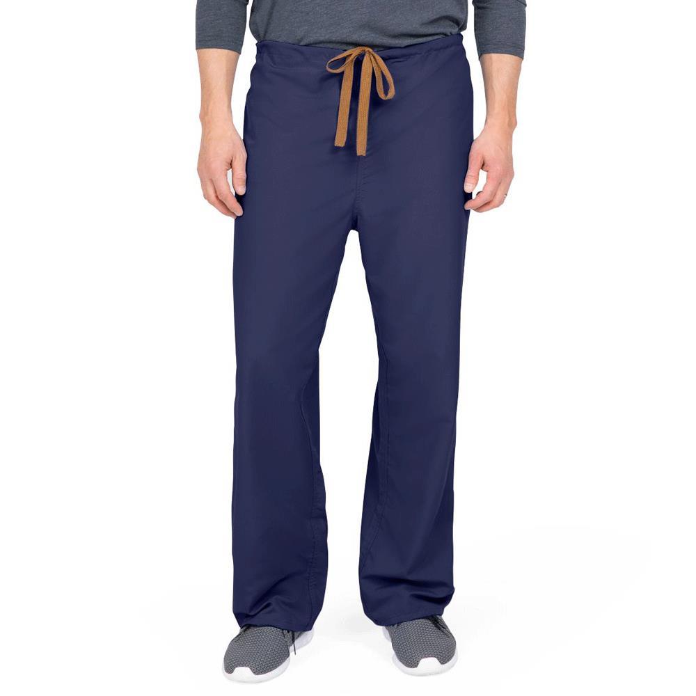 bf1761c0f76 Medline PerforMAX Unisex Reversible Drawstring Scrub Pants - Navy |  Protective Apparels