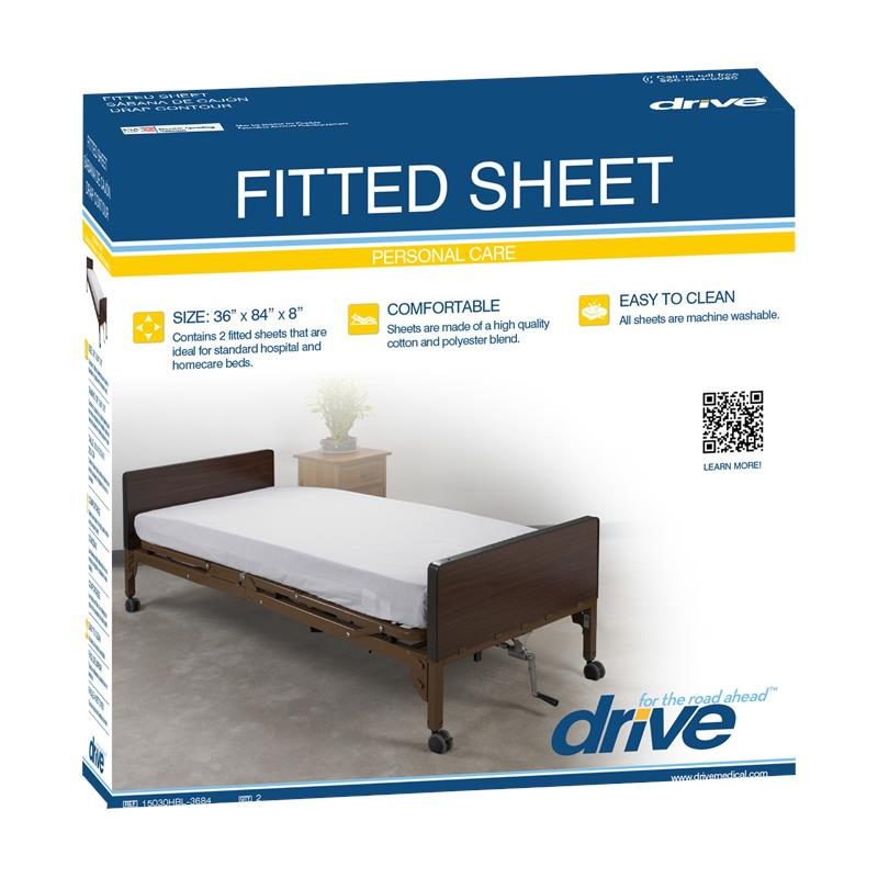 Drive Hospital Bed Fitted Sheet · Bed Fitted Sheet