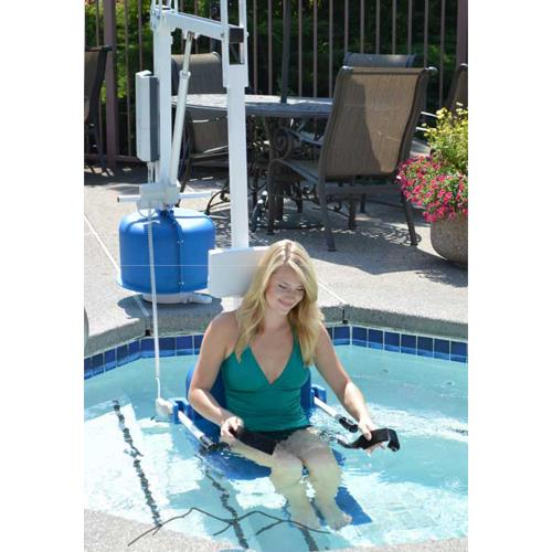 Aqua creek scout 2 pool lift power lifts Psoriasis and swimming pool chemicals