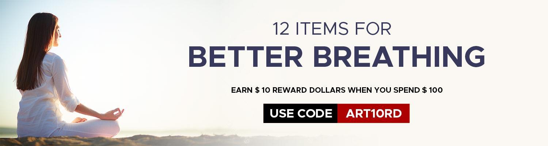 12 Items for Better Breathing
