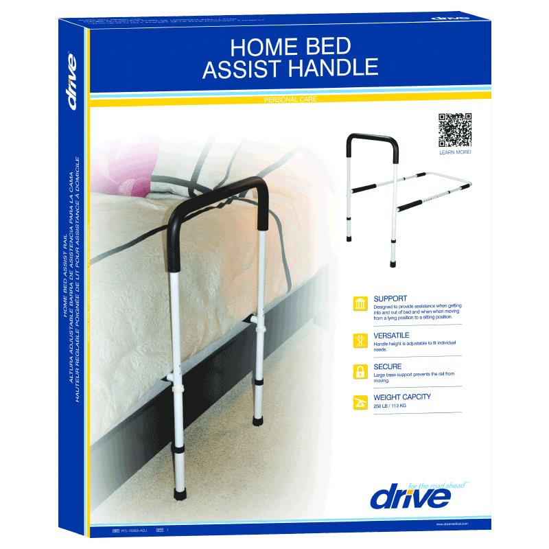 Drive Adjustable Height Home Bed Assist Handle Bed
