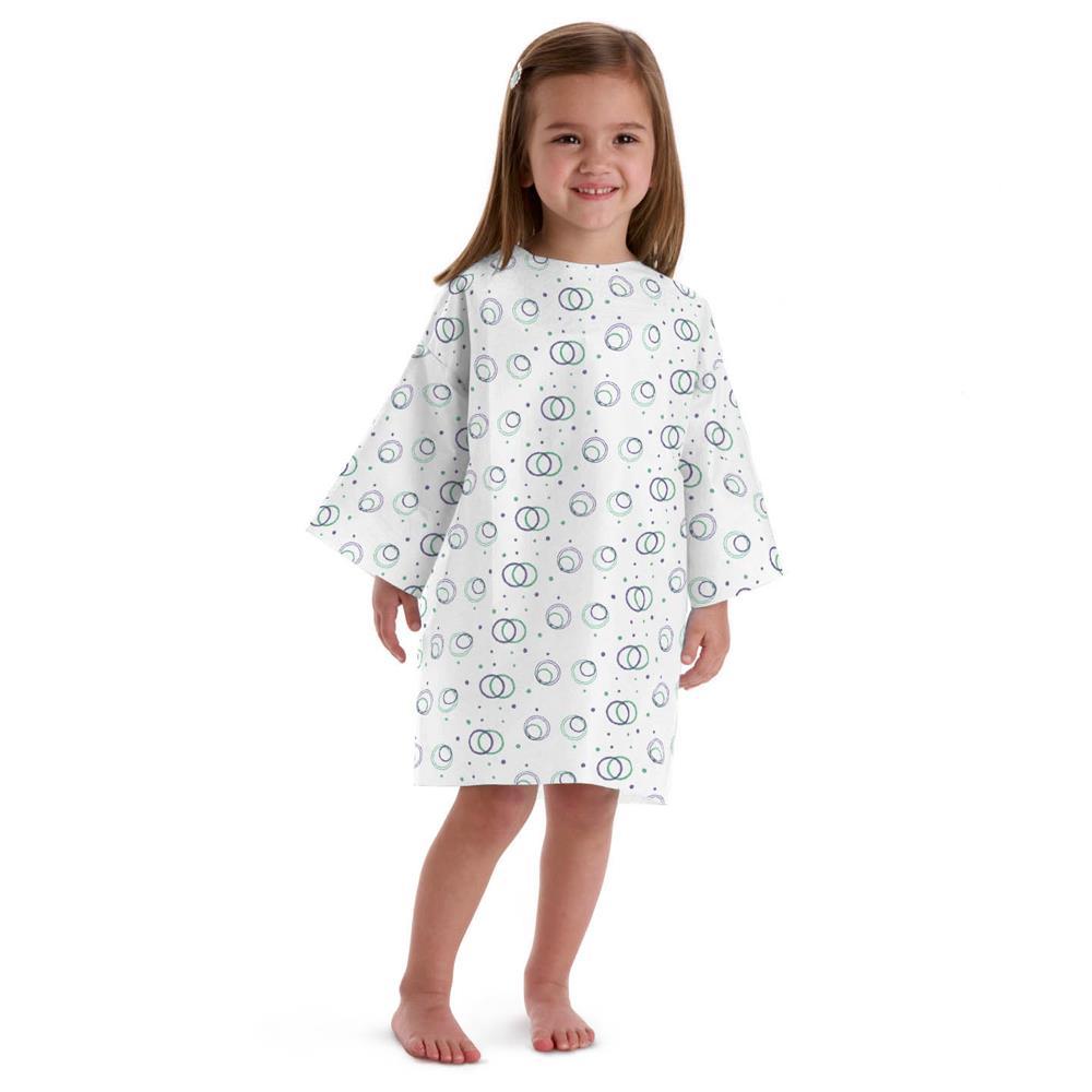 Medline Disposable Pediatric Patient Gowns   Patient Gown and Apparels