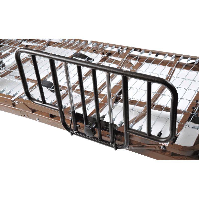 drive half length no gap style side rail half length bed rails. Black Bedroom Furniture Sets. Home Design Ideas