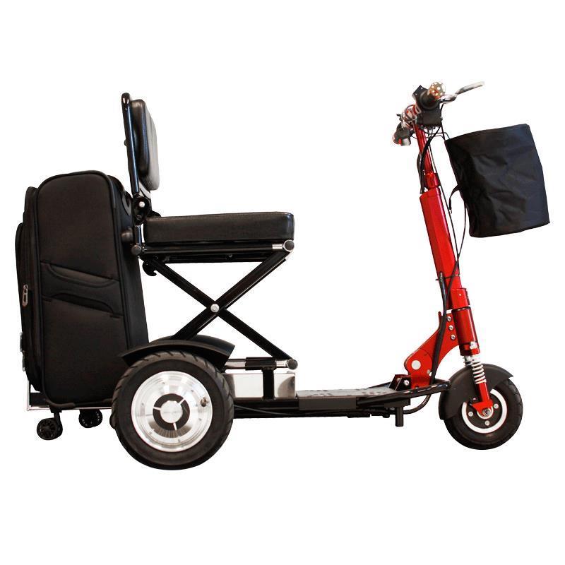 ewheels ew 01 speedy portable folding scooter scooters. Black Bedroom Furniture Sets. Home Design Ideas