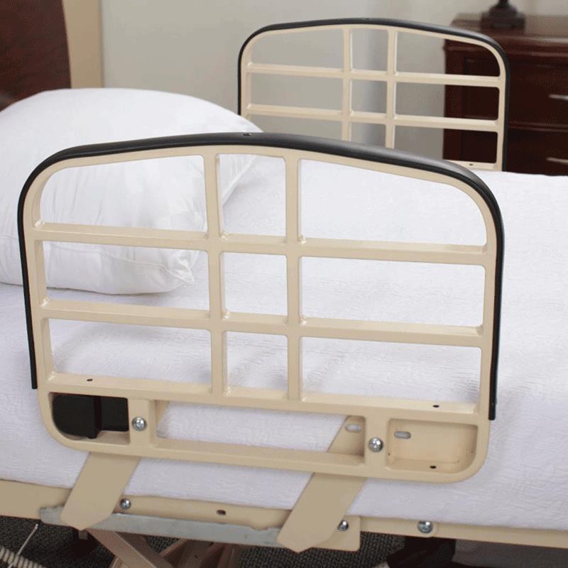 medline alterra 1385 hi-low full electric bed | hospital bed