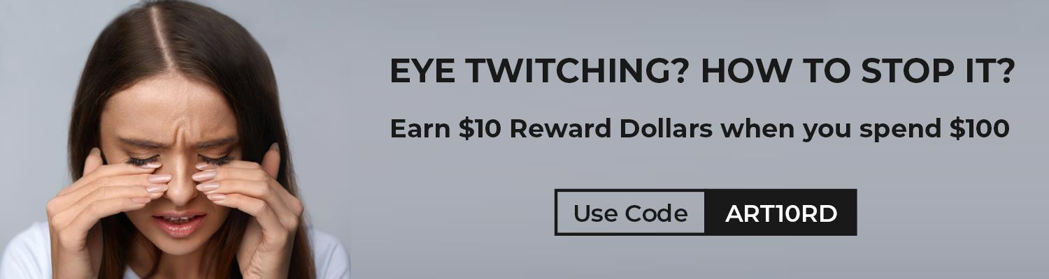How to stop EYE TWITCHING?