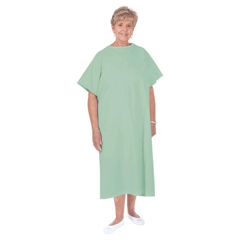 Essential Medical Standard Patient Gown With Tie Back | Patient Wear