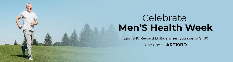 Celebrate Men's Health Week
