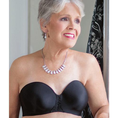 641d20b67fbfa ... ABC Seamless Strapless Mastectomy Bra Style 112 - Black