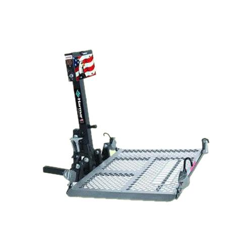 Harmar al500 universal power chair outside lift outside for Motorized wheelchair lifts for cars