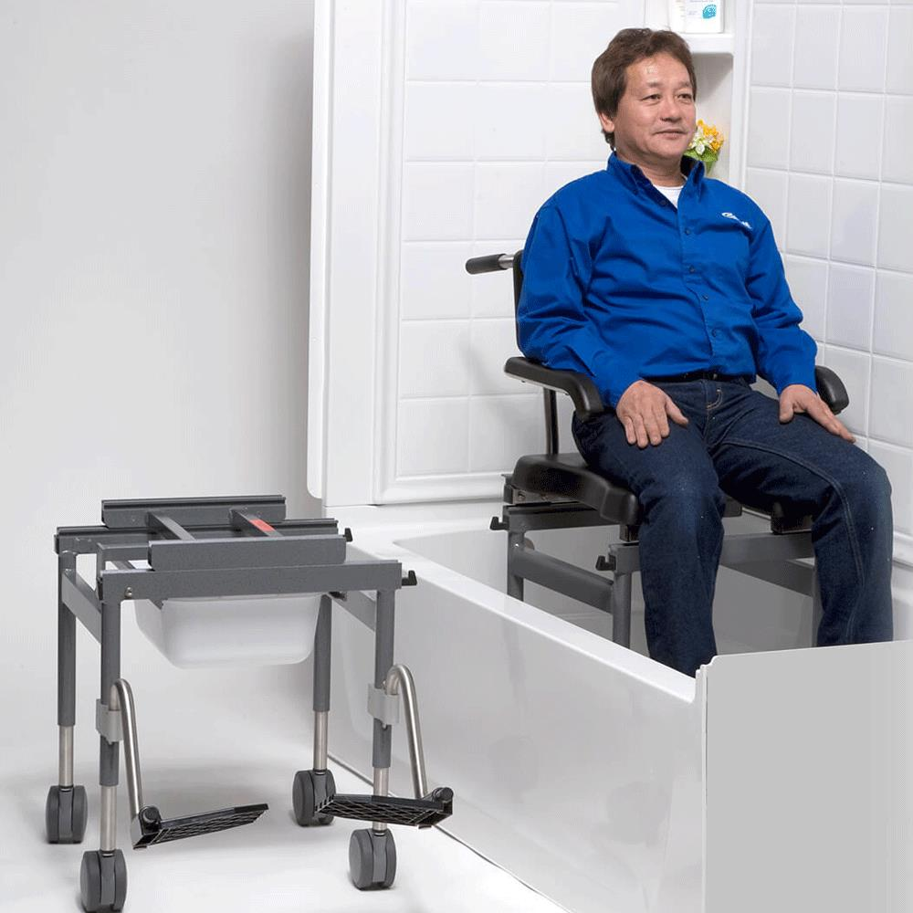 Columbia Versa Bath Shower and Commode Transfer System | Transfer ...