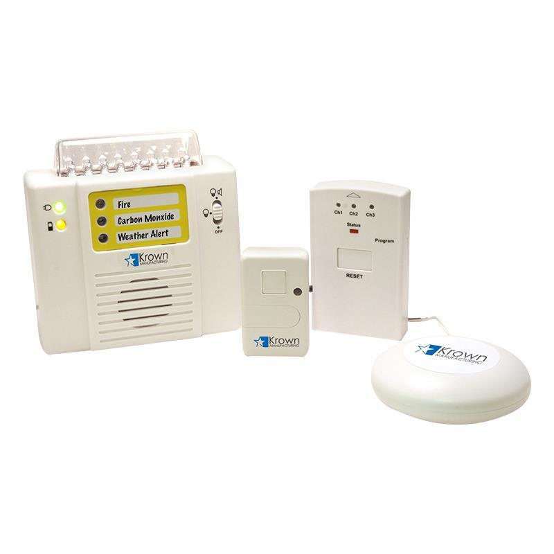 krown ka300 wireless alarm monitoring system signaling devices. Black Bedroom Furniture Sets. Home Design Ideas