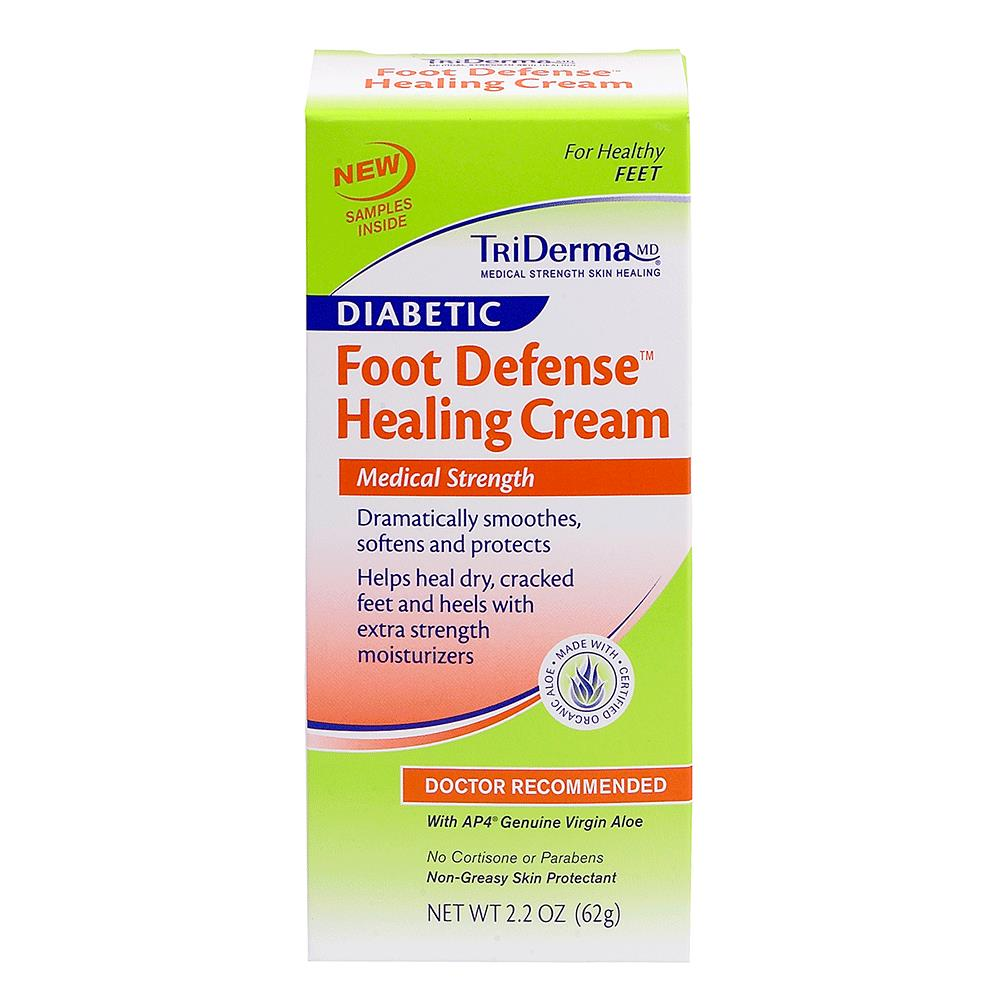Triderma Diabetic Foot Defense Healing Cream Diabetes Foot Care