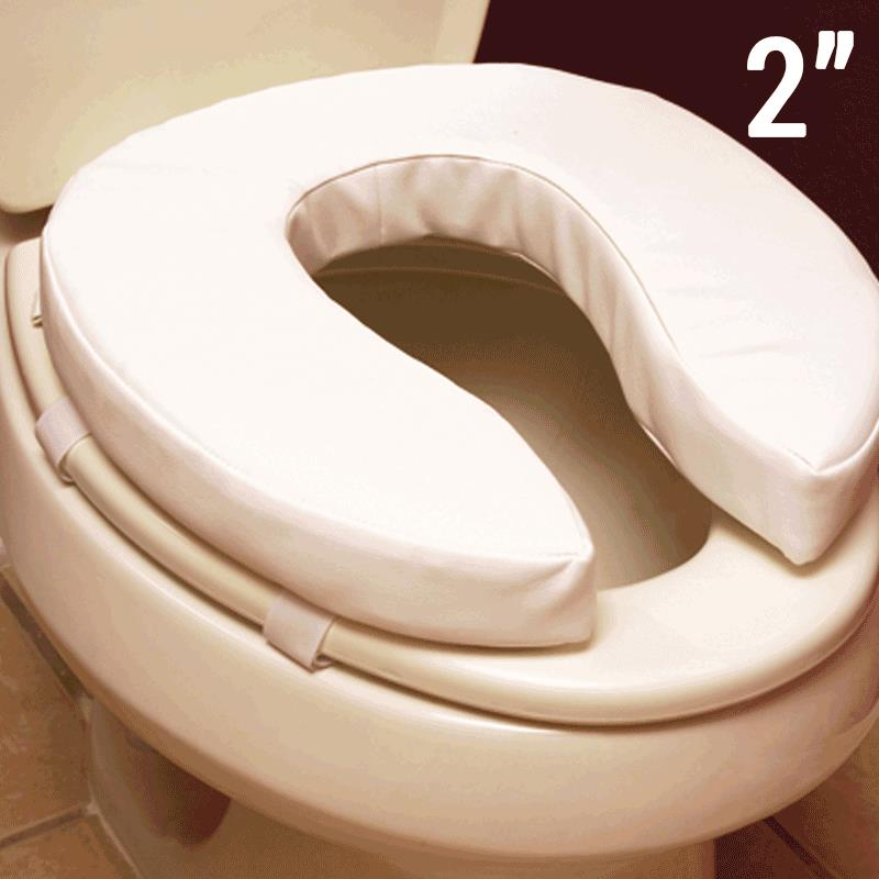 Essential Medical Padded Toilet Seat Cushion | Commode Aids
