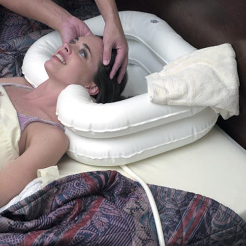 Mabis Dmi Deluxe Inflatable Bed Shampooer Basin Bedside