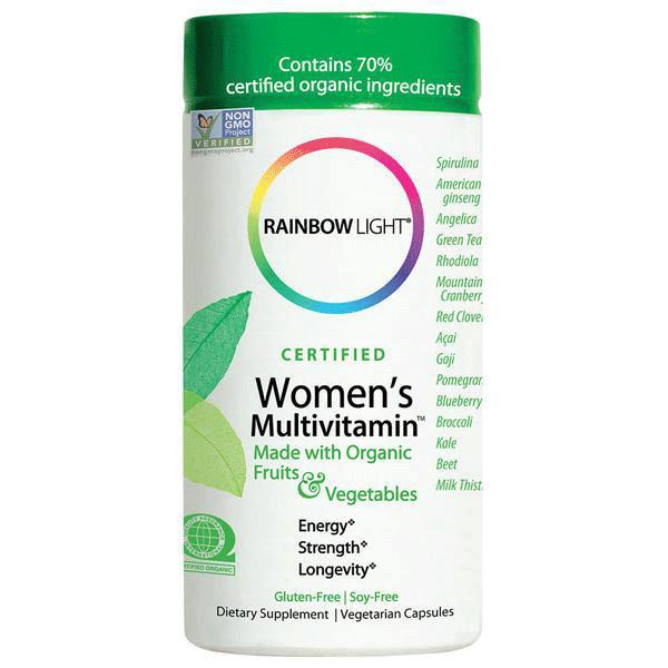 Rainbow Light Certified Women Multivitamin Prenatal
