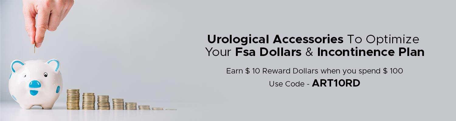 Urological Accessories to Optimize Your FSA Dollars & Incontinence Plan