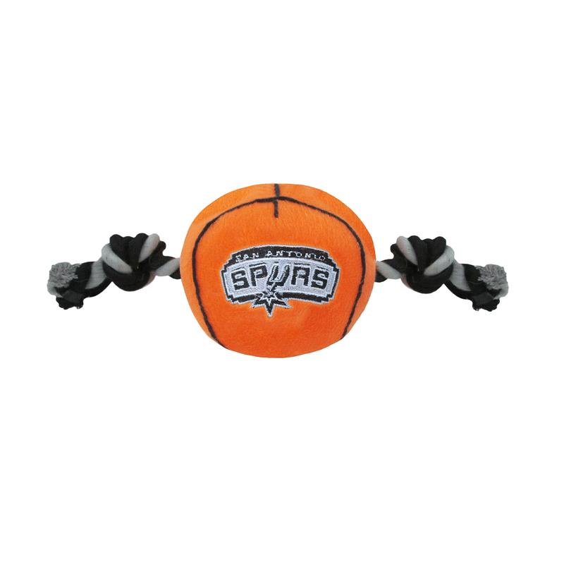best service 75c22 08228 Mirage San Antonio Spurs Plush Basketball Dog Toy