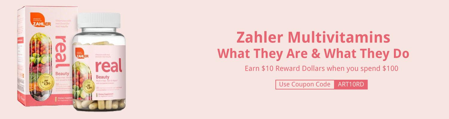 Zahler Multivitamins: What They Are & What They Do