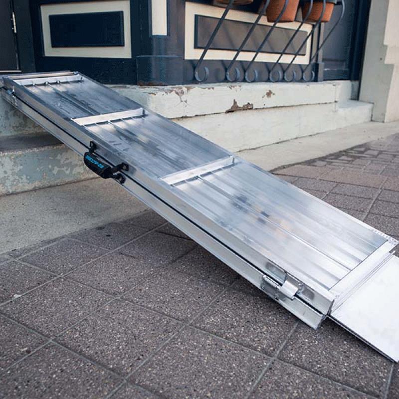 Ez Access Suitcase Singlefold Advantage Series Ramp