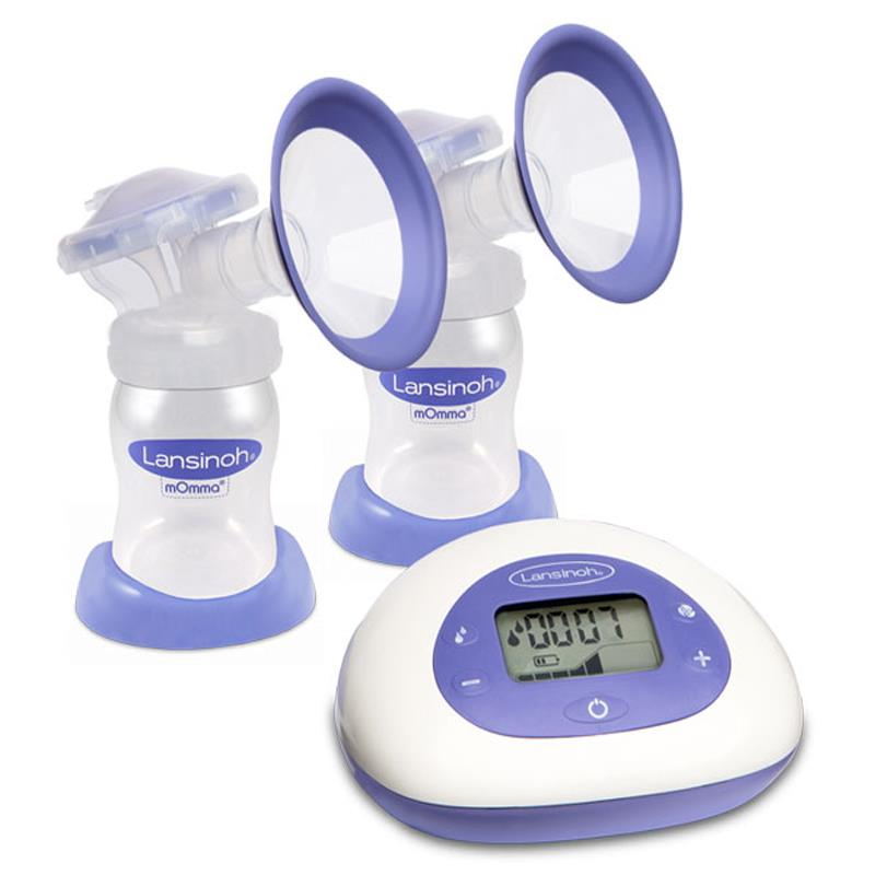 Lanolin breast pump