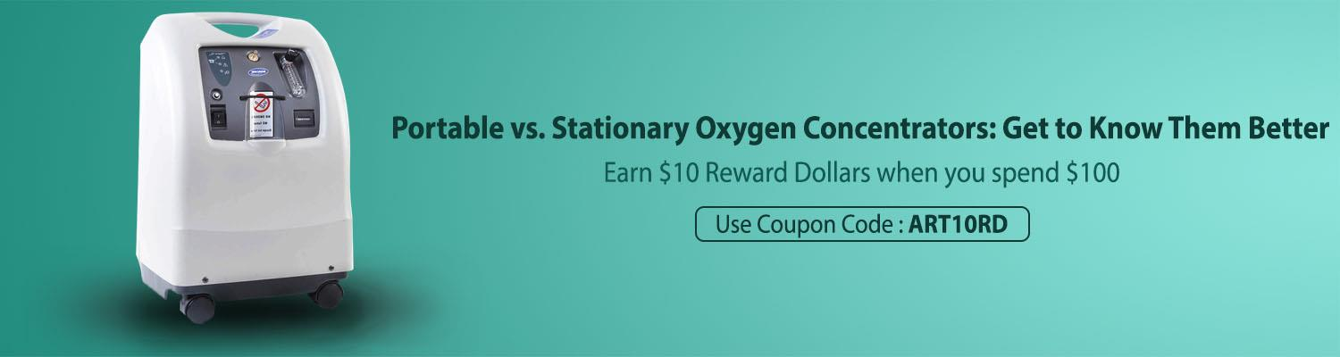 Portable vs. Stationary Oxygen Concentrators: Get to Know Them Better