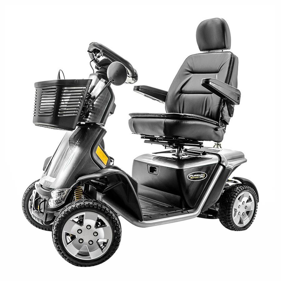 pride pursuit sport 36 volt four wheel scooter. Black Bedroom Furniture Sets. Home Design Ideas