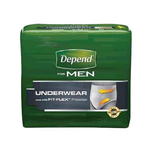 4c65df5d58309 Depend Fit-Flex Incontinence Underwear For Men - Maximum ...