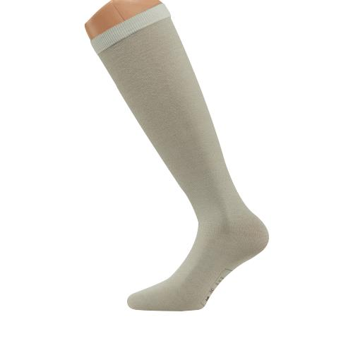 juzo silver full foot knee high closed toe stocking liner stockings