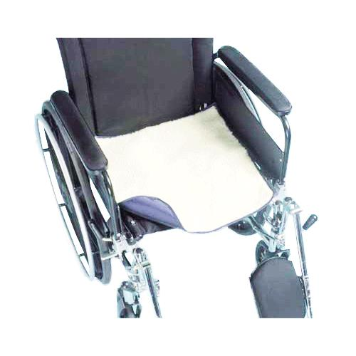 Complete medical sherpa chair pad with incontinence barrier for Incontinence pads for chairs