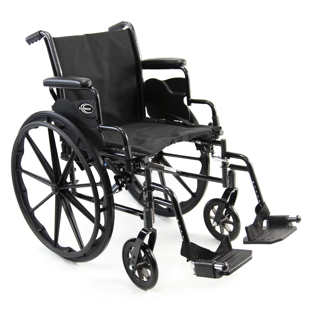 karman healthcare lightweight manual wheelchair lightweight chairs Head Rest