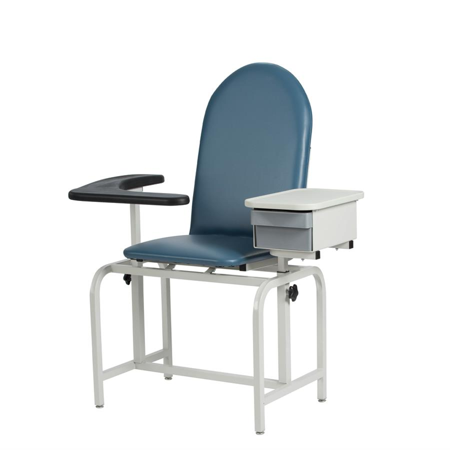 Exceptional Winco Padded Blood Drawing Chair With Drawer